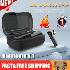 5.1 TWS Bluetooth Earphones Headphones Headset Mini Earbuds For iPhone Samsung
