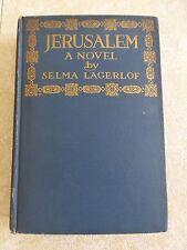 JERUSALEM A Novel by Selma Lagerlof