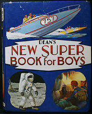 DEAN'S NEW SUPER BOOK FOR BOYS, 1970 HB, STORIES, ACTIVITEIS, OUTDOORS