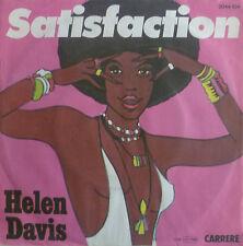 """7"""" CV ROLLING STONES 1977 M- ! HELEN DAVIS Satisfaction"""