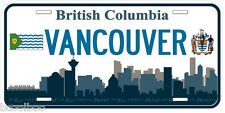 Vancouver British Columbia Canada Novelty Car License Plate
