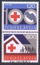 Yugoslavia 1975 Mi 1619-20 ** Czerwony Krzyż Red Cross Rote Kreuz Croix-Rouge