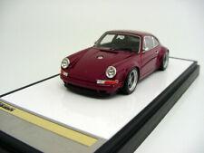 1/43 Make Up Vm111G Singer Porsche 911/964 Burgundy Miniwerks