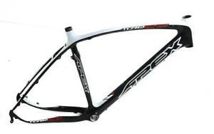 "21"" Apex Carbon 26"" Mountain Bike Frame White / Black Tapered BB86 New Blemished"