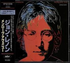 JOHN LENNON Menlove Ave FIRST JAPAN CD CP32-5338 1A2 TO NO OBI Black Triangle