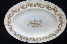 """Vtg Empire England Porcelain """"Symphony"""" Pattern 1949 Oval Serving Platter 14.25"""""""