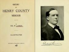 1919 HENRY County Missouri MO, History and Genealogy Ancestry Family DVD B23