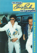 OFFICIAL ELVIS PRESLEY FAN CLUN MAGAZINE 2008 AUGUST/SEPTEMBER 2008