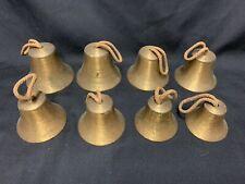 Set Of 6 Hand Bells In Decreasing Sizes