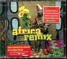 AFRICA REMIX - (YOUSSOU N'DOUR / MORY KANTE) - CD COMPILATION NEUF ET SOUS CELLO