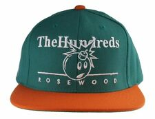 The Hundreds Trade Turquoise Orange Rosewood Adam Bomb Snapback Baseball Hat NWT