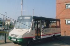 BUS PHOTO,SOUTHERN VECTIS IOW PHOTOGRAPH PICTURE,FORD IVECO MINIBUS AT NEWPORT.