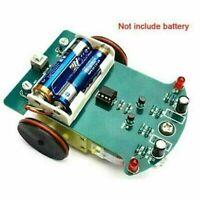 DIY Smart Robot Auto-Elektronikbausatz mit Untersetzungsmotor Kit T3R6