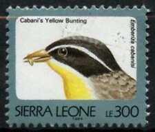 "Sierra Leone 1992-9 SG#1907B 300L Birds ""1994"" Imprint Date Type I Used #D67026"