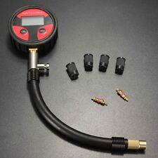 Digital LCD Tyre Air Pressure Gauge Manometer 0-200PSI For Car Truck Motorbike