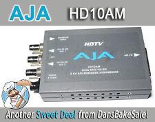 AJA HD10AM HD/SD 8 Channel AES Embedder/Disembedder w/ Power Supply & Harness