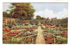 Knot Garden - A R Quinton Art Postcard 1931 *2574
