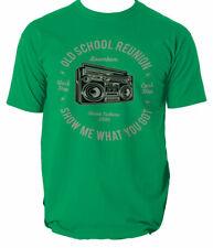 Camiseta Boombox Retro Hip Hop Camiseta estupendo diseño perfecto S-3XL