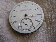 Antique Elgin National  Pocket Watch Movement