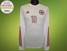 LATVIA National Away 2012-2013 #10 (S) ADIDAS Long Sleeve FOOTBALL SHIRT Camisa