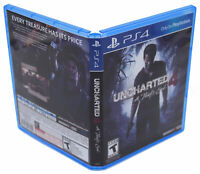Uncharted 4: A Thief's End PS4 Replacement Game Case And Insert (No Game Disc)