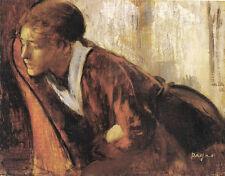 Melancholy   by Edgar Degas   Giclee Canvas Print Repro