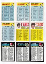 ***1971 Topps #161 Coin Checklist BV$10!  No creases, nice corners***