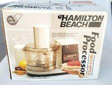 Vintage Hamilton Beach Food Processor 702AL Almond NEW 702-5 Base