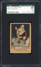 1951-52 Parkhurst #41 Jim Peters Rookie Card (Chicago Black Hawks) SGC 96 MINT