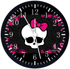 Monster High Black Frame Wall Clock Nice For Gifts or Decor Z01