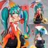 Racing Miku Hatsune 2 Anime 2016 Ver. Team Action Figure Collection Figurine Toy