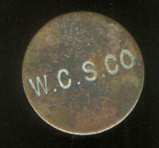 WEST CAICOS SISAL COMPANY STORE TOKEN SIX PENCE PRE WWI