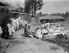 Photo.  1910s. Korea.  Women Washing Clothes