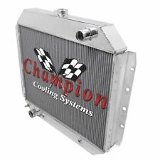 Heavy Duty A/C,Ford Aluminum Alliant Radiator Champion Cooling Systems EC433 V8