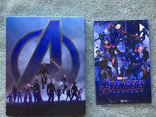 Avengers Endgame 3D Steelbook with Art Cards