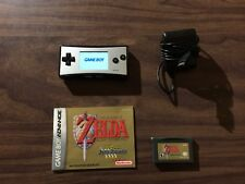 Nintendo Game Boy micro System + Zelda: A Link to the Past -- GameBoy Micro