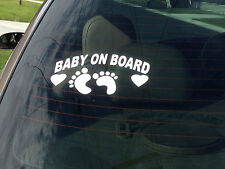 Baby on Board Safety sign  stickers  idea car  trucks utes