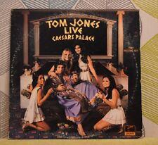 TOM JONES - Live At Caesar's Palace [Double Vinyl LP,1971] USA 2XPAS 71049 *EXC