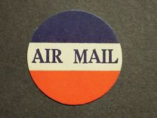 (1) mnh U.S.Air Mail Cinderella Stamp label