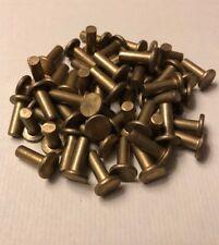 1//4 X 1//2 CSUNK Head Brass Rivets; 100 PCS Box
