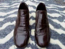 Kurt Geiger Mens Brown Leather Slip on Shoes UK size 8 EU 42