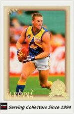 2012 Select AFL Eternity Hall Of Fame Card HOF203 Guy McKenna (West Coast)