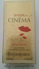 Baiser de Cinema 50ml/ 1.6oz YSL EDP spray edition collector rare discontinued