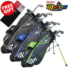 MASTERS M-KIDS PRO JUNIOR GOLF SETS +STAND BAG ALL AGES +FREE £9.99 GOLF TOWEL