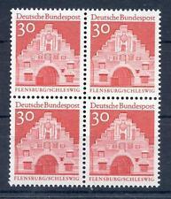 Bund Mi-Nr 493 4er Block  (30) -Deutsche Bauwerke 12.JH (II)- ** Postfrisch 1966