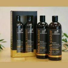ArtNaturals Black Castor-Oil Shampoo and Conditioner (2 x 473ml) High End Hair