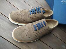 Charles Tyrwhitt UK 7,5 EUR 41(,5) Leder Sneaker Brogue Oxord Schnürer Wild Velo