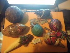Midwest Seasons of Cannon Falls Ornament Lot of 7 large New with tags all unique
