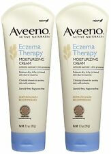 2-Pack  Aveeno Eczema Therapy Active Naturals Moisturizing Sensitive Cream 7.3Oz