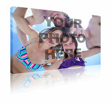 """La tua foto su un 16 """"X 24"""" personalizzata CANVAS Wall Art Print Picture Gratuito P & P"""